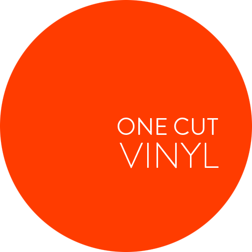 One Cut Vinyl logo
